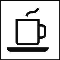 Öffentliches Cafe